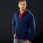 Fruit of the Loom Adult SupercottonFull-Zip Hooded Sweatshirt