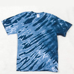 Gildan Tie-Dye Youth Tiger Stripe Tee