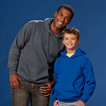Youth ComfortBlend® EcoSmart® Hooded Pullover Fleece