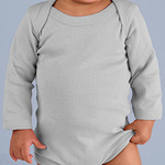 Infant Baby Rib Lap Shoulder Long Sleeve Creeper