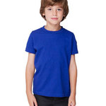 Toddler Poly-Cotton Short-Sleeve Crewneck