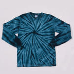 Gildan Tie-Dye Youth One-Color Long-Sleeve Cyclone Tee