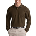 Long Sleeve Silk Touch™ Polo
