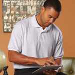 Adult ComfortBlend EcoSmart® Jersey Polo