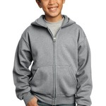Youth Full Zip Hooded Sweatshirt