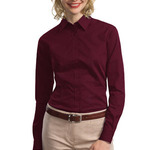 Ladies Tonal Pattern Easy Care Shirt
