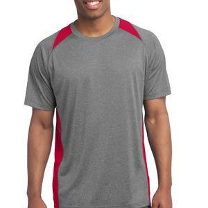 Heather Colorblock Contender ™ Tee Thumbnail