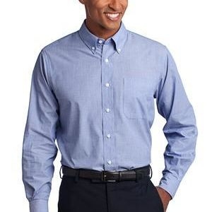 Tall Crosshatch Easy Care Shirt Thumbnail