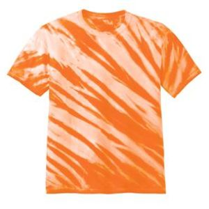 Youth Tiger Stripe Tie Dye Tee Thumbnail