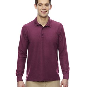 Adult 6 oz. Double Piqué Long-Sleeve Polo Thumbnail