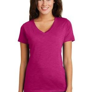 ® Women's Super Slub ™ V Neck Tee Thumbnail