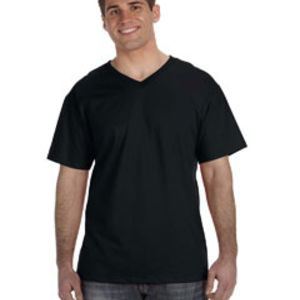 Adult 5 oz. HD Cotton™ V-Neck T-Shirt Thumbnail